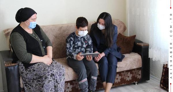 Kaymakam Sarı'dan Ailelere Sürpriz Ziyaret