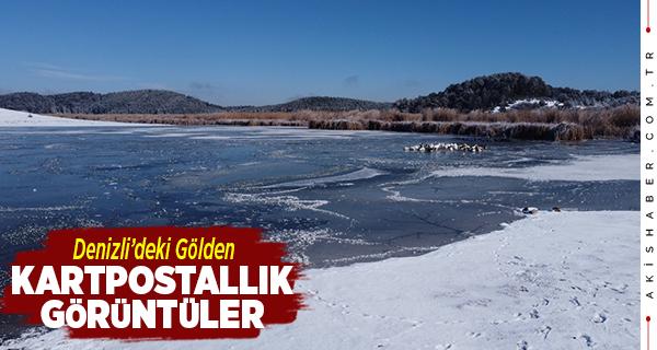 Buz Tutan Yayla Gölü Büyüledi