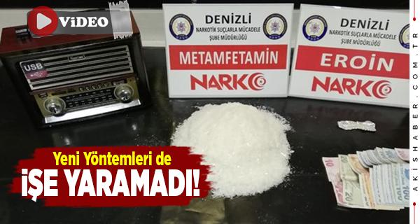 Denizli'de Uyuşturucu Kargo Paketinden Çıktı