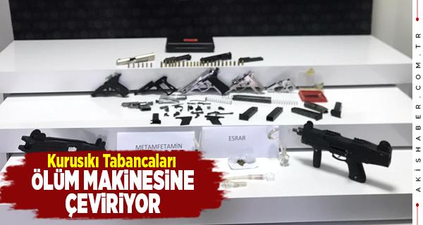 Denizli'de Silah Kaçakçısına Suçüstü