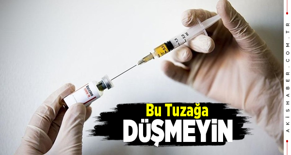 Aşı Dolandırıcıları Bu Yöntemi Kullanıyor