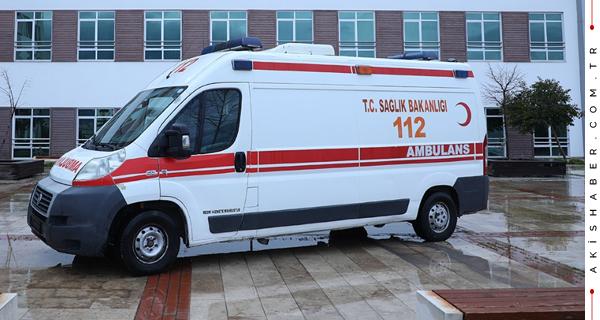 PAÜ'ye Ambulans Desteği