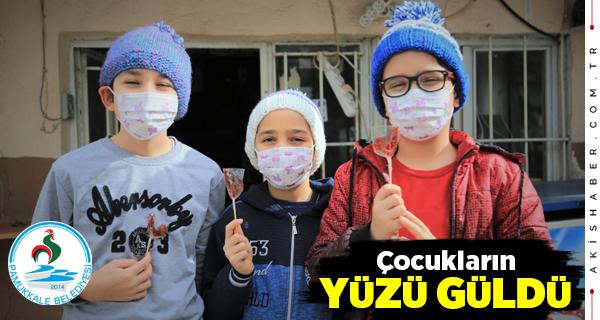 Pamukkale Belediyesi'nden İçleri Isıtan Kampanya