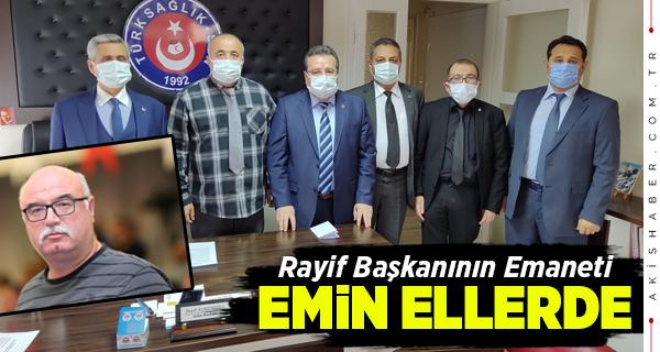 Türk Sağlık-Sen Rayif Başkanının İzinde