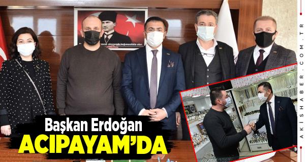 Başkan Erdoğan Acıpayam'da İstişarelerde Bulundu