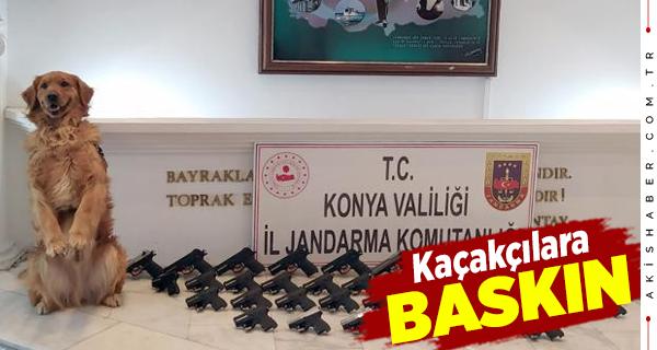 Denizli ve Konya'da Jandarmasından Kaçakçılara Operasyon