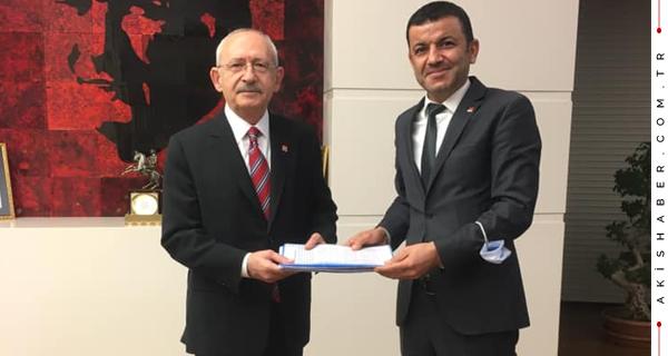 Başkan Çavuşoğlu Dosyayı Kılıçdaroğlu'na Sundu