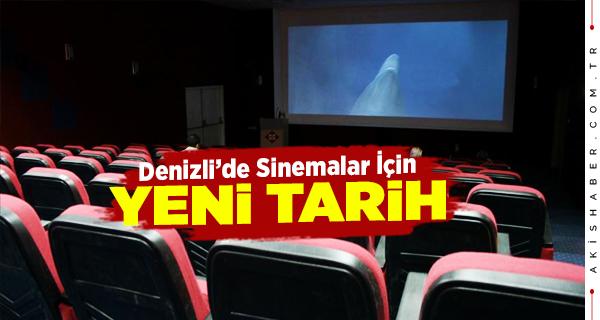 Denizli'de Sinemalar O Tarihe Kadar Kapalı Olacak