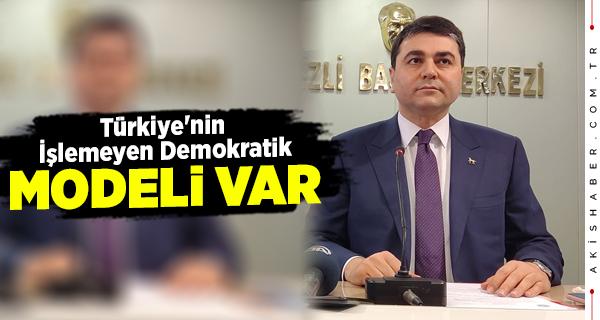 DP Başkanı Denizli'de Gündemi Değerlendirdi