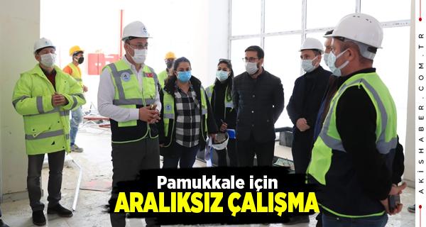 Başkan Örki Aktepe Sosyal Tesislerini İnceledi