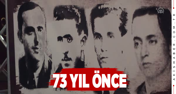 Makedonya'da 4 Yiğit Kurşuna Dizilerek İdam Edildi