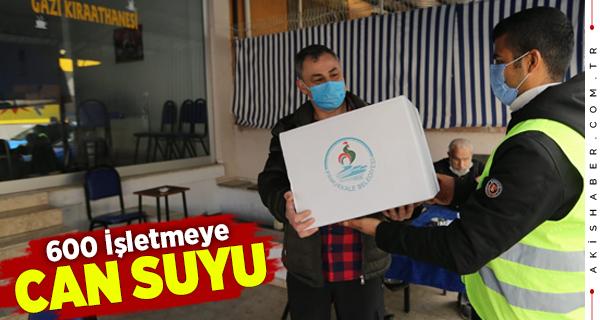 Pamukkale Belediyesi'nden Destek Paketi