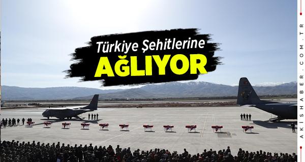Bitlis Şehitlerinin Cenazeleri Memleketlerine Gönderildi