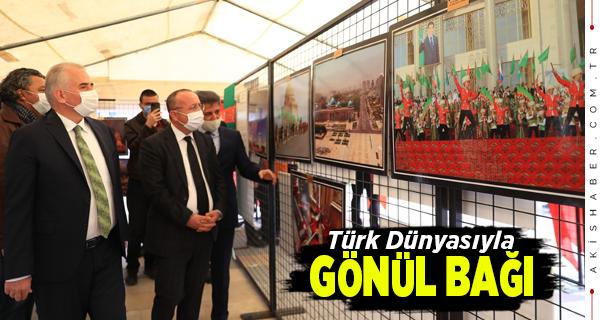 Büyükşehir'den Türk Cumhuriyetleri 30. Yıl Hediyesi
