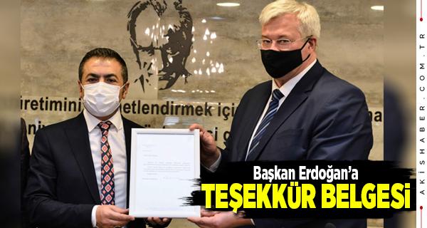 Başkan Erdoğan: İyi günde de kötü günde de beraberiz