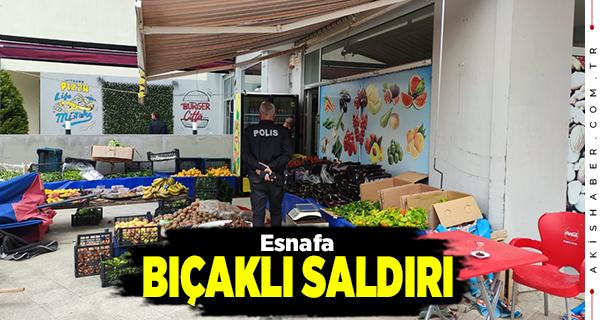 Denizli'de Market Sahibi Karnından Bıçaklandı