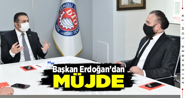 Başkan Erdoğan Emlakçıların Sıkıntılarını Dinledi