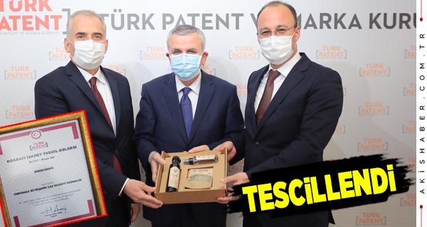 Pamukkale Belediyesi'nin Yaptığı Tescil Başvurusu Kabul Edildi
