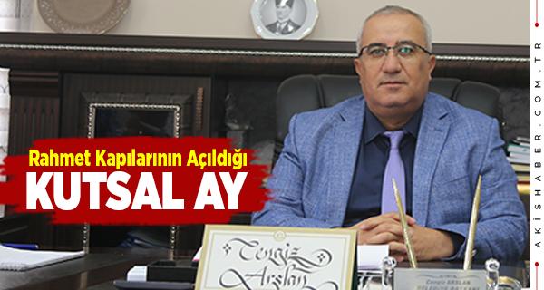 Başkan Arslan'dan Ramazan Ayı Mesajı