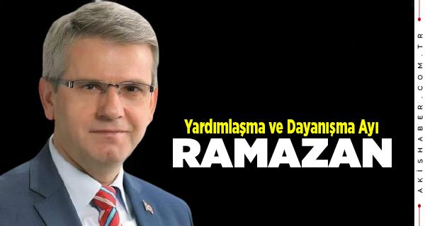 Başkan Şevkan'dan Ramazan Mesajı