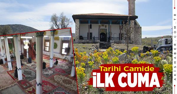Cevher Paşa Camisi'nde İlk Cuma Coşkusu