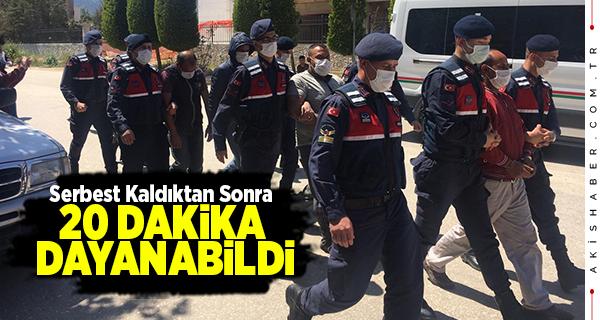 Denizli'de 35 Suç Kaydı Olan Hırsız Tutuklandı