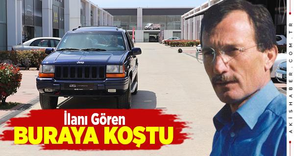 Süper Vali Yazıcıoğlu'nun Cipi Satışa Çıktı