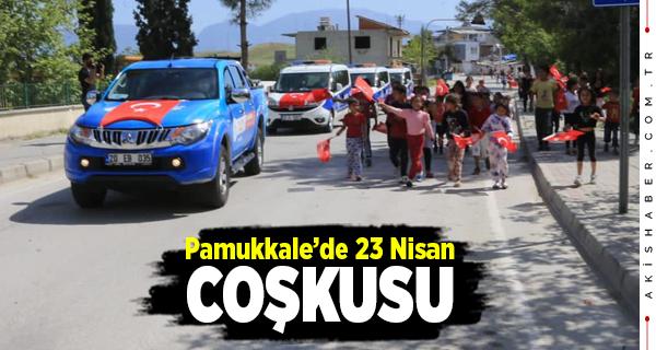 Pamukkale Belediyesi'nden Çocuklara Sürpriz