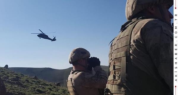 TSK Kuzey Irak'ta Kara Harekatı Başlattı