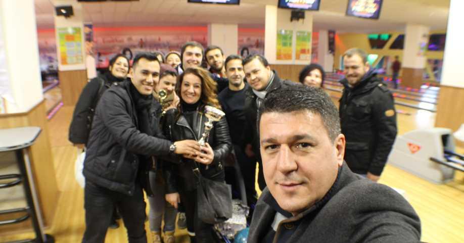 Denizlili Gazeteciler Bovling Turnovasında!