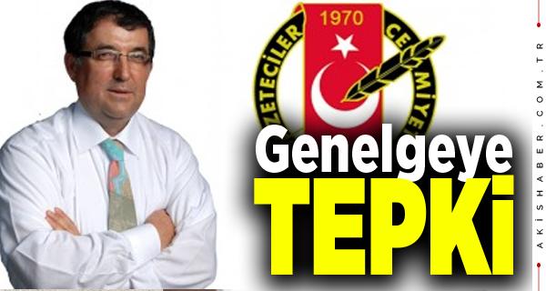 DGC Başkanı Karaçay Genelgeye Tepki Gösterdi