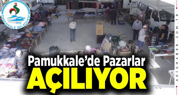 Pamukkale Belediyesinden 'Pazar' Açıklaması