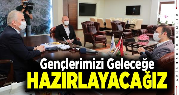 Başkan Zolan TTF Başkanı Yalçınkaya'yı Ağırladı