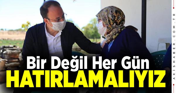 Başkan Örki'nin Annelere Mesajı