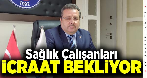 Başkan Aksoy Sağlık Çalışanlarının Sesi Oldu