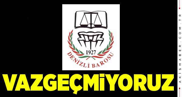 Denizli Barosundan İstanbul Sözleşmesi Açıklaması