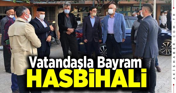 Başkan Arslan Bayram Namazını Kalınkoz'da Kıldı