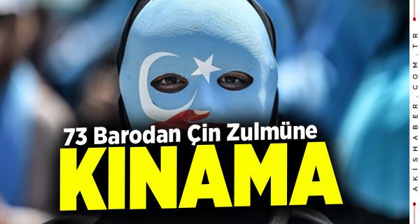 Doğu Türkistan'daki Uygur Türkleri'nin Yanındayız