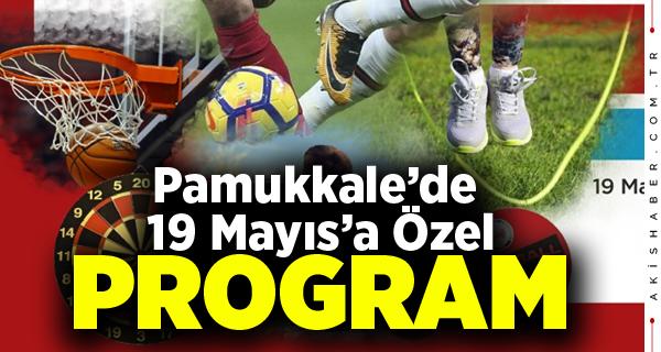 Pamukkale Belediyesi 19 Mayıs Coşkusunu Yaşatacak