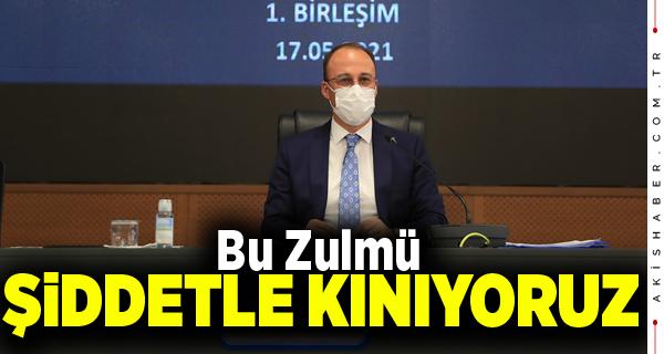 Pamukkale Belediye Meclisi'nden İsrail'e Net Mesaj