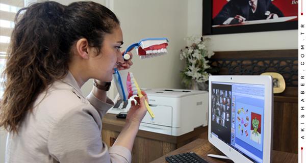 Denizli'de Öğrencilere Online Sağlık Eğitimi