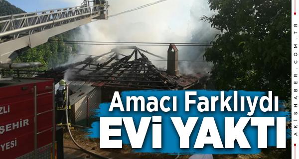 Çameli'nde Korkutan Yangın