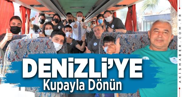 Pamukkale Belediyesporlu Sporcular Yalova'ya Uğurlandı