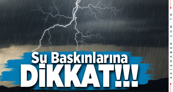 Meteoroloji'den Denizli İçin Uyarı!