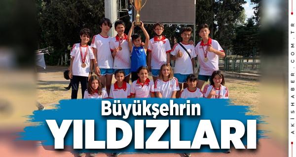 Büyükşehir Belediyespor'un Yıldızları Derecelerle Döndü