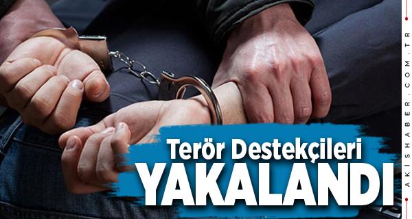 Denizli'de PKK Propagandası Yapan Şahıslar Yakalandı