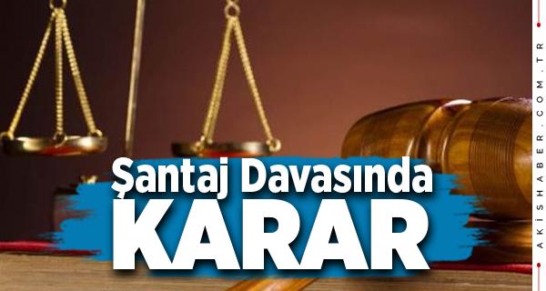 Teoman Sancar'a Şantaj Olayında 4 Sanığa Ceza