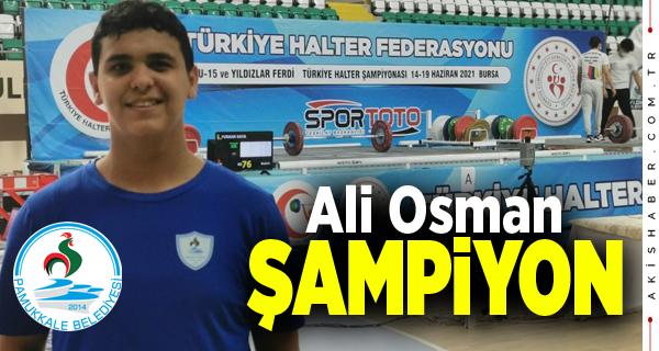 Pamukkale Belediyespor Halter Şampiyonasına Damga Vurdu