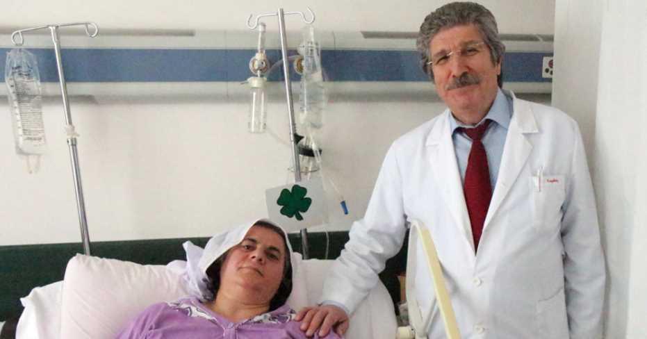 Kapalı Ameliyat Yöntemi İle Dalağı Alındı