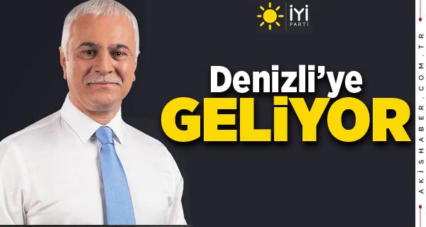 İyi Parti Ankara Milletvekili Koray Aydın Denizli'ye Geliyor